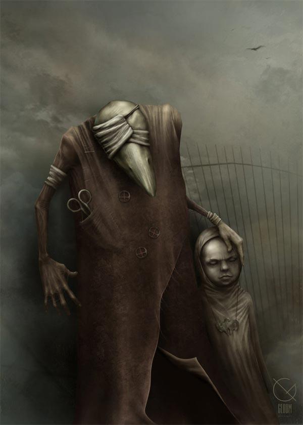 Creepy Artwork by Anton Semenov