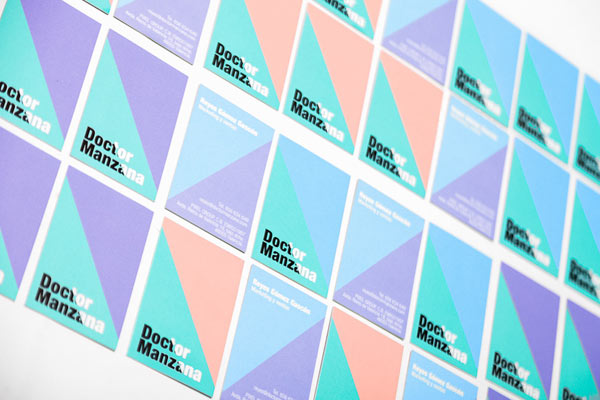 Doctor Manzana Business Cards by Masquespacio