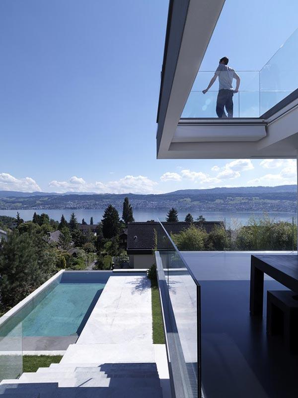Feldbalz House in Zurich, Switzerland by Gus Wüstemann Architects