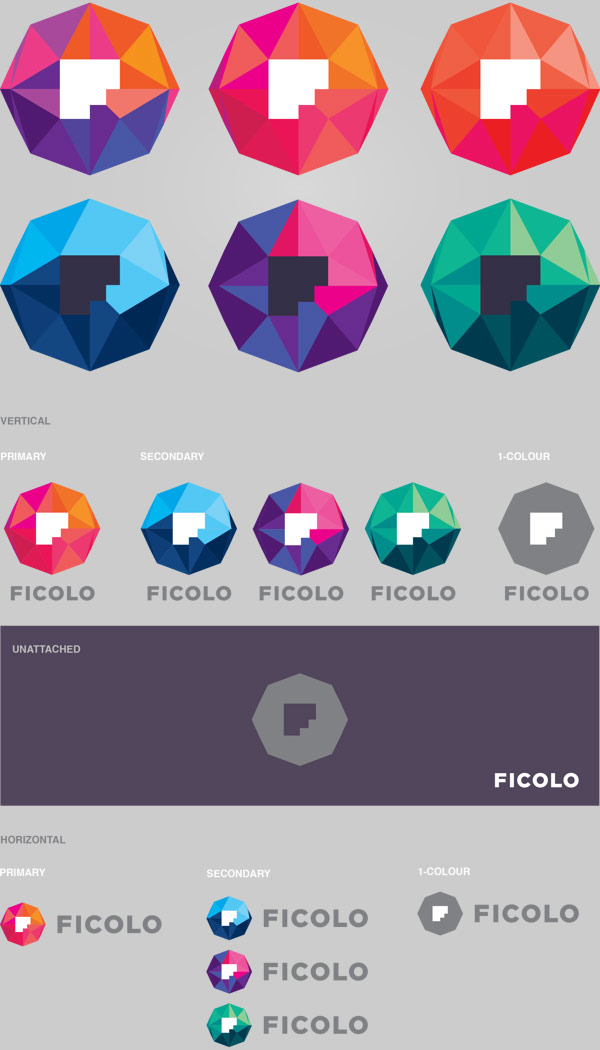 Ficolo Corporate Identity by Mikael Kivelä