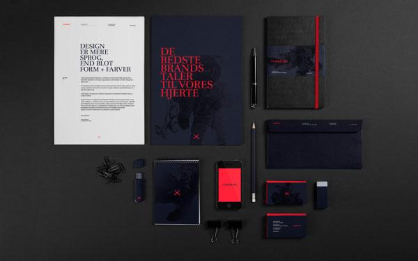 Formløs Brand Lab – Identity Design