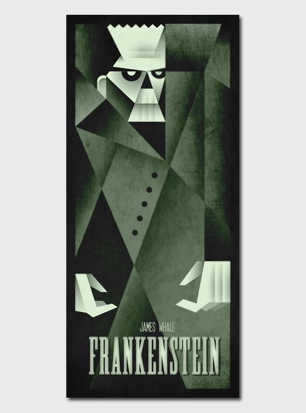 Frankenstein Illustration by Szoki