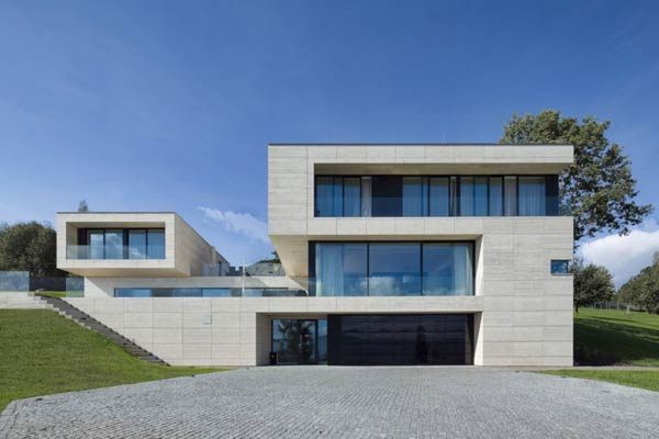 Modern Architecture of a Villa in Decín, Czech Republic by Studio Pha