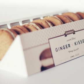 Ginger Kisses - Rebranding and Packaging by Veronica Cordero