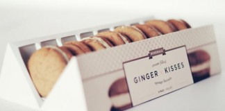 Ginger Kisses - Branding and Packaging by Veronica Cordero