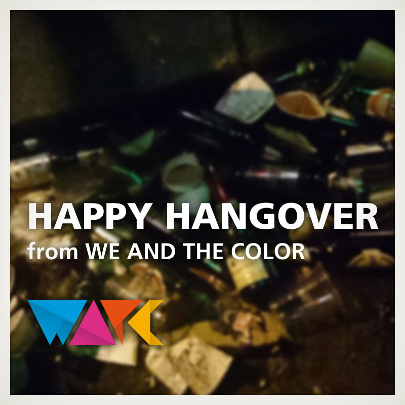 Happy New Year from WE AND THE COLOR!