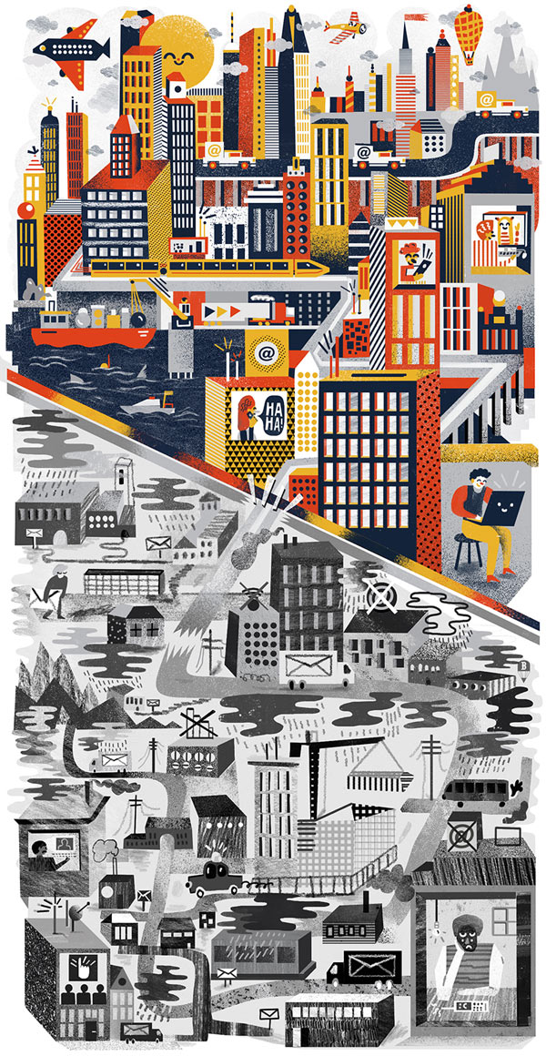 Illustrations by Karol Banach