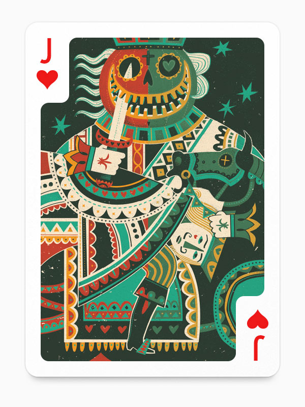 Playing Arts – Playing Cards Illustrations