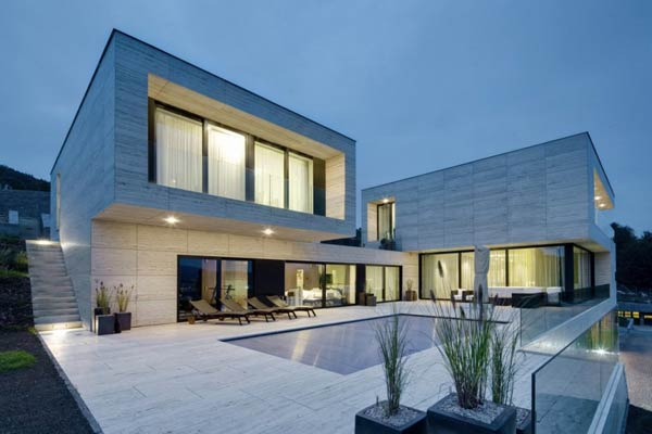 Modern Villa In Dec N Czech Republic By Studio Pha