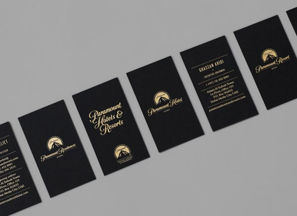 Paramount Hotels & Resorts - Business Cards by & SMITH