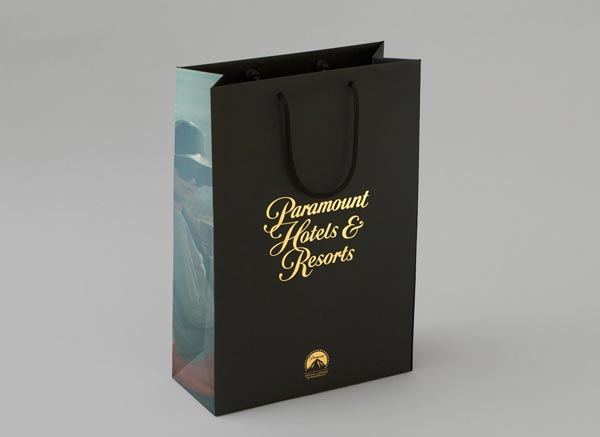 Paramount Hotels & Resorts - Packaging Design by & SMITH