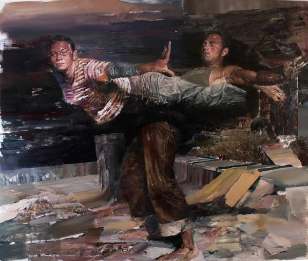 Paintings by Dan Voinea