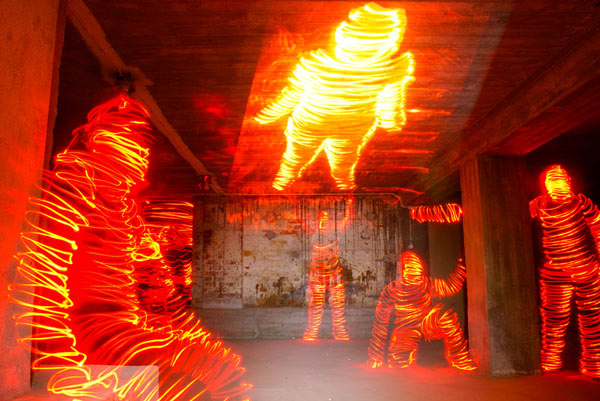 Photographic Light Painting by Janne Parviainen