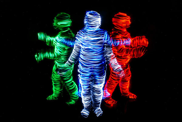 Light Painting Photography by Janne Parviainen