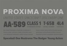 Proxima Nova - Sans Serif Font Family by Mark Simonson