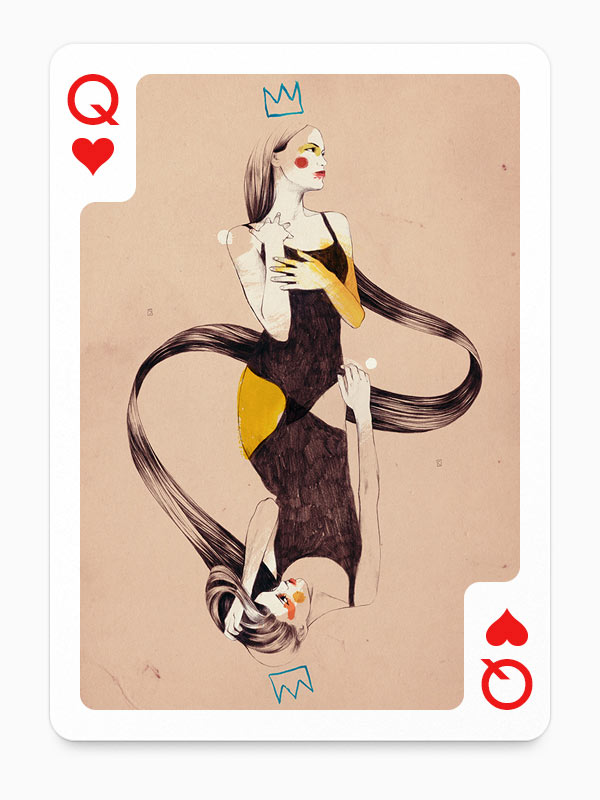 Queen of Hearts by Conrad Roset