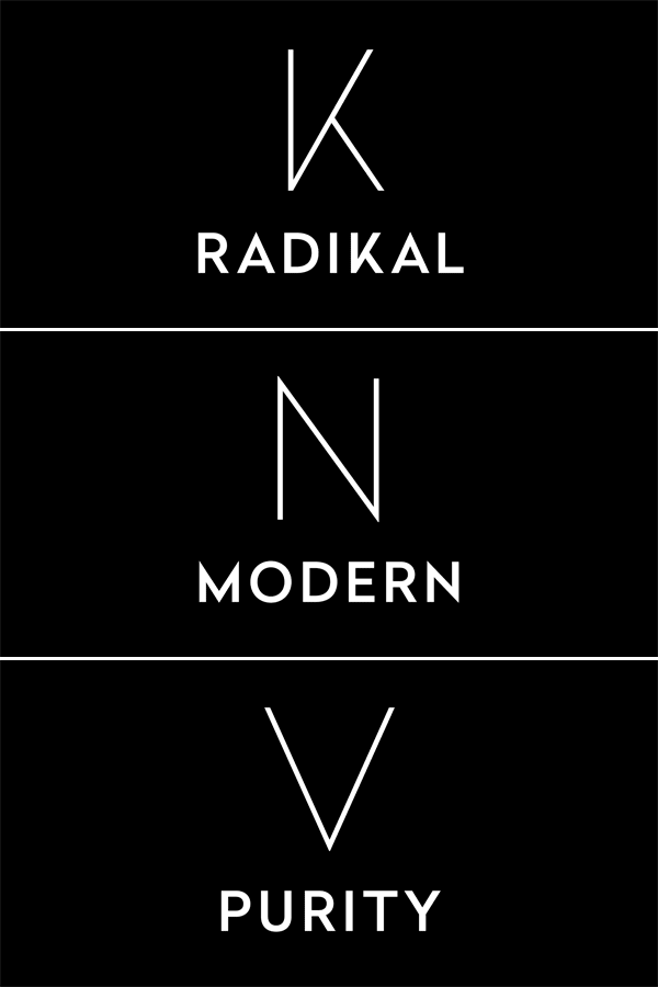 Radikal - Geometric Font Family by Nootype