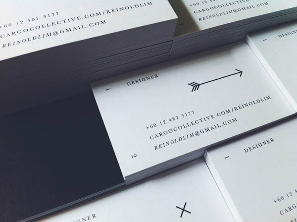 Reinold Lim - The Arcane - Business Card Design by Oddds