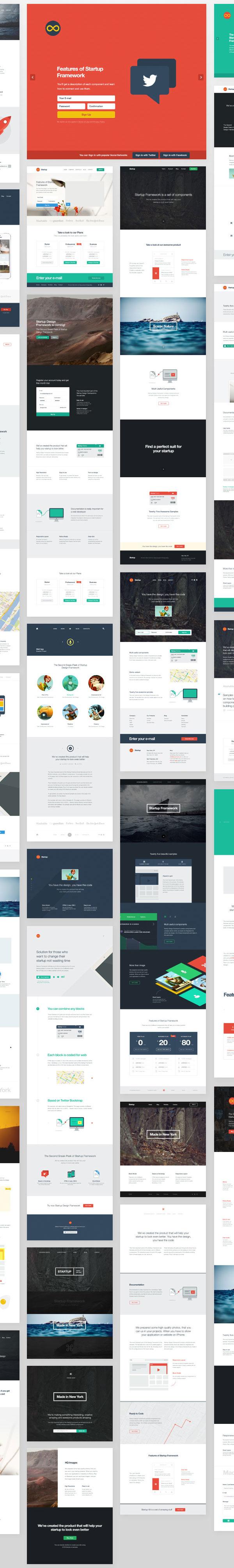 Startup Design Framework by Designmodo