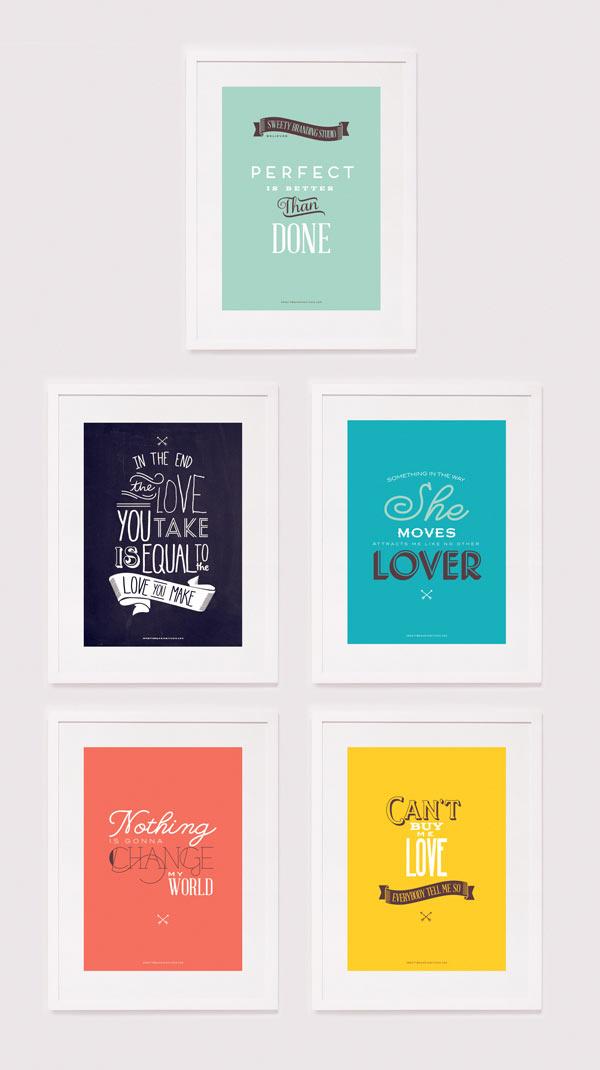 Sweety Branding Studio Posters