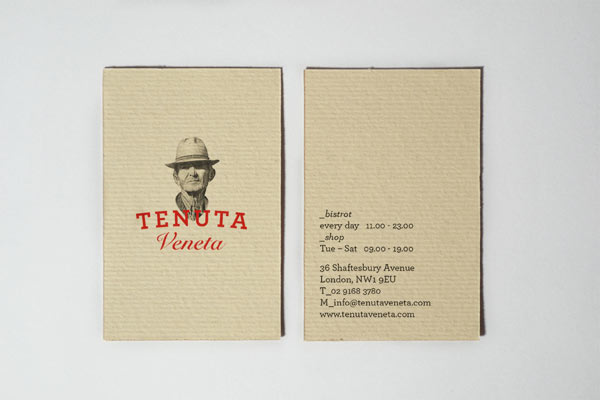 Tenuta Veneta – Business Cards by Manuel Bortoletti