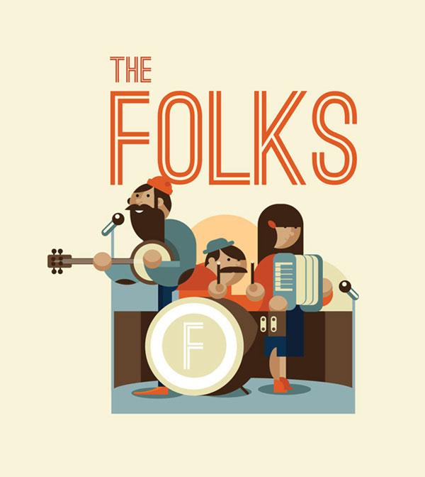 The Folks Illustration by Dylan Jones