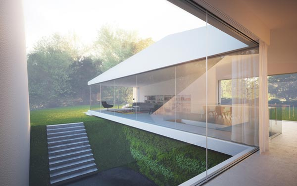 The House Hafner by Hornung and Jacobi Architecture