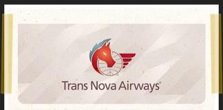 Trans Nova Airways - Boarding Pass - Modern