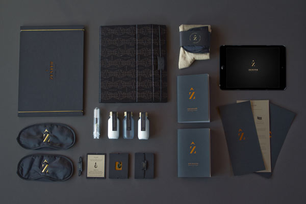 Zenith Premium Travel Kits - Brand Design by Veronica Cordero