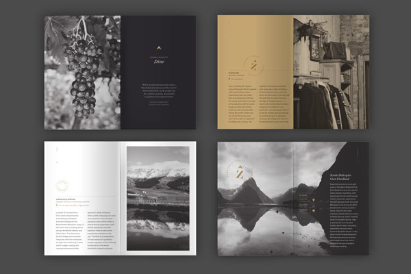 Zenith Premium Travel Kits - Brochure Design by Veronica Cordero