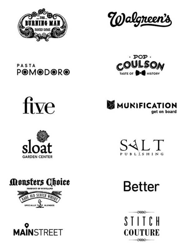 Logo Designs by Madeline Roguschka