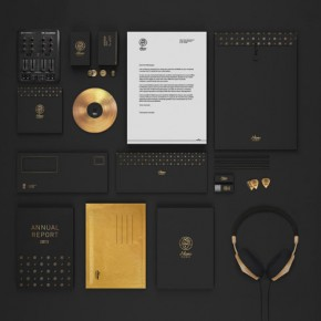 Adamo Music - Corporate Identity by Martine Strøm