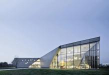 Muzeum Lotnictwa in Krakow, Poland by Peter Ruge Architekten