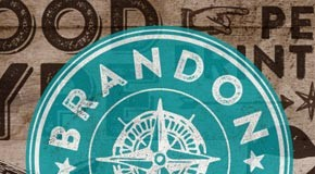 Brandon Printed - Vintage and Wild West Style Type Family by HVD Fonts
