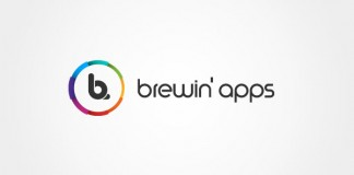 Brewin' apps - Branding and Logo Design by Dora Klimczyk