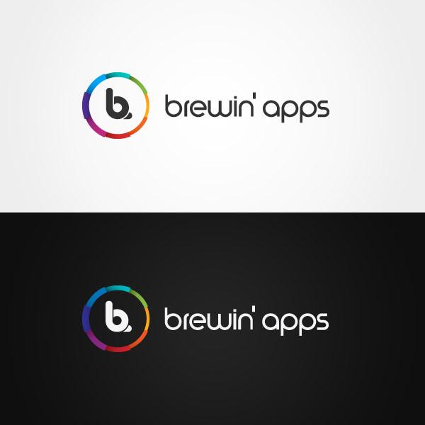Brewin' apps - Branding and Logo Design by Dora Klimczyk