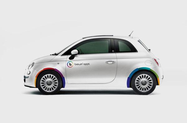 Brewin' apps - Car Design by Dora Klimczyk