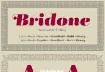 Bridone Serif Font Family