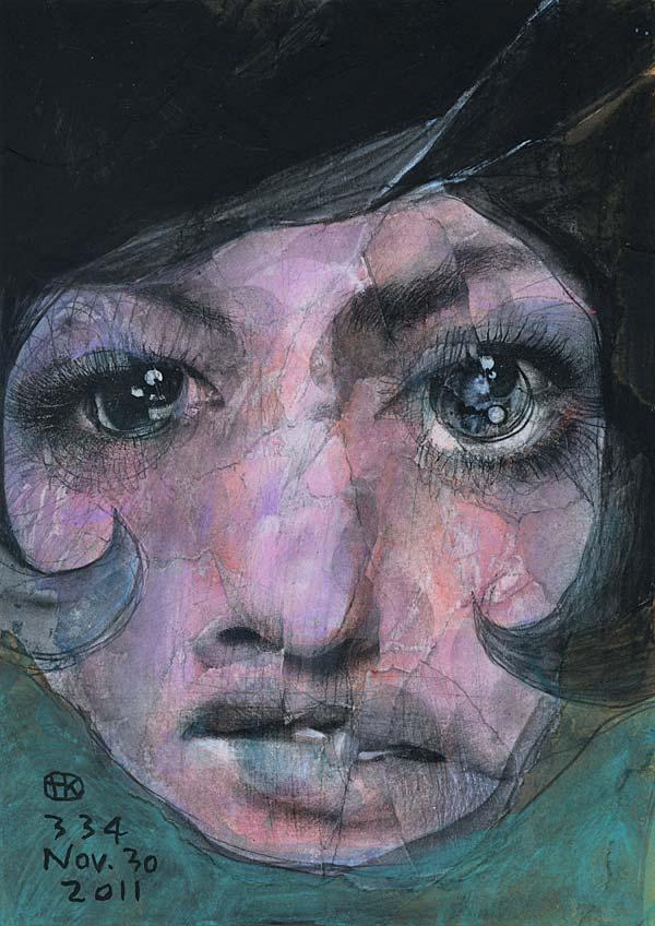 Broken 1000 Faces by Artist Takahiro Kimura