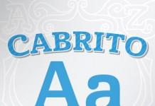 Cabrito serif typeface by Jeremy Dooley