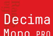 Decima Mono Pro by TipografiaRamis