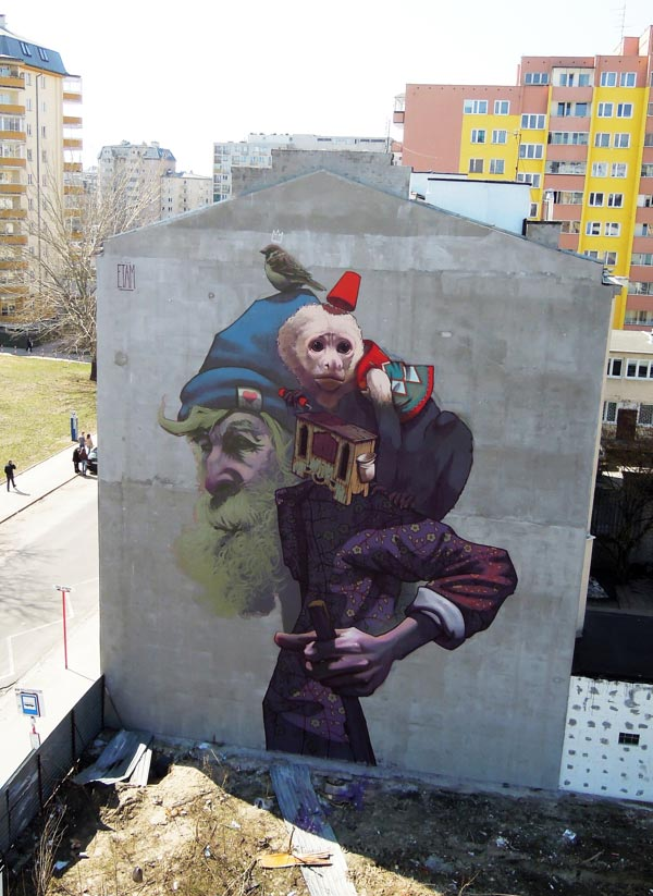 ETAM - MONKEY BUSINESS in Warsaw, Poland