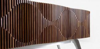 Glissando Credenza - Furniture Design by Jon Goulder