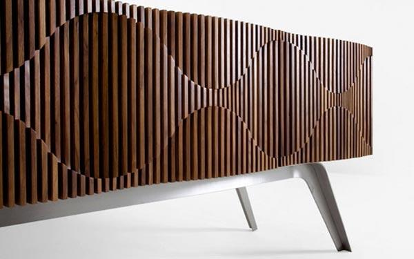 glissando credenza furniture design by jon goulder. Black Bedroom Furniture Sets. Home Design Ideas