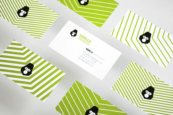 Gorilla Gadgets - Business Cards by Hidden Characters