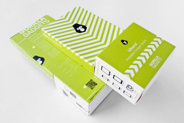 Gorilla Gadgets - Packaging Design by Hidden Characters