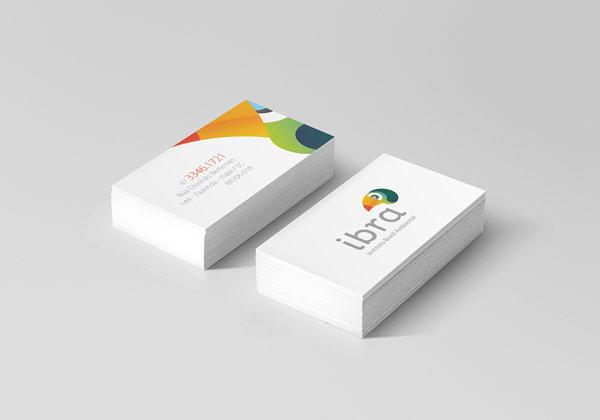 IBRA Business Card Design by Manoel Andreis Fernandes