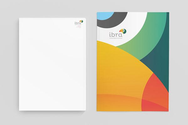 IBRA Stationery Design by Manoel Andreis Fernandes