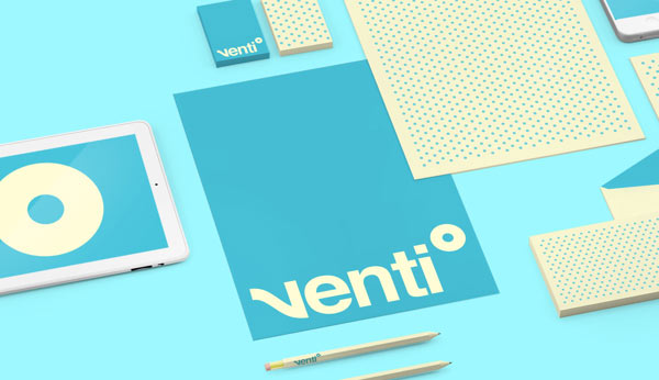 Industrial Design Studio - Brand Identity close up