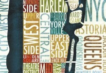 Manhattan Map - Wall Art by Michael Mullan